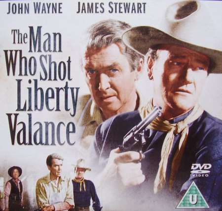 "Honor and dignity divide American society to this day. Here illustrated in the Western classic ""The Man Who Shot Liberty Valance."""
